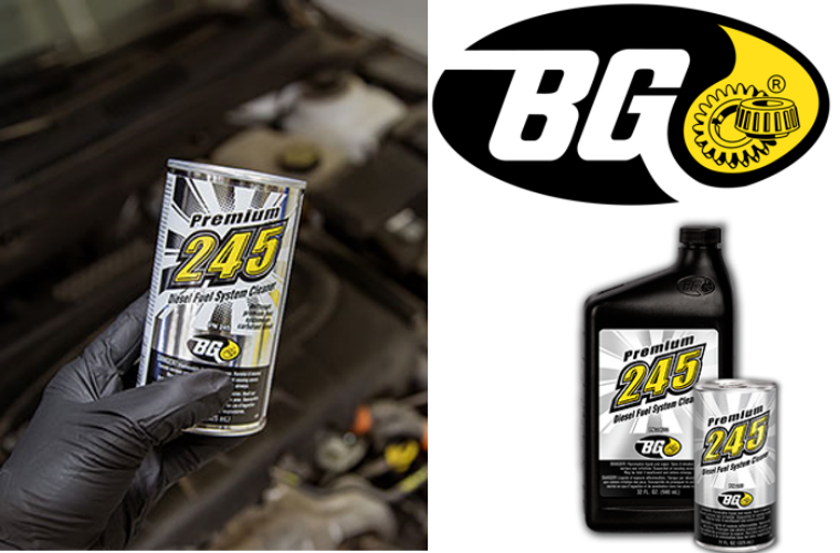Free fuel system cleaner from BG Products