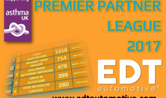 EDT league table highlights 'best performing garages'
