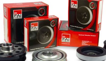 FAI launches torsional vibration damper range