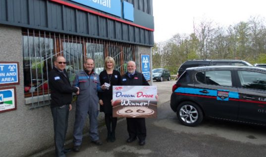 Dream Drive promotion success for The Parts Alliance