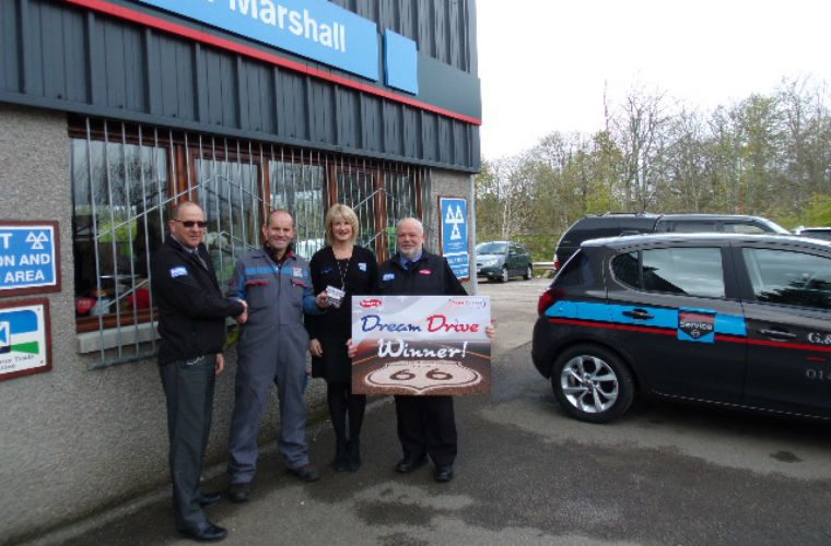 Dream Drive promotion success for The Parts Alliance