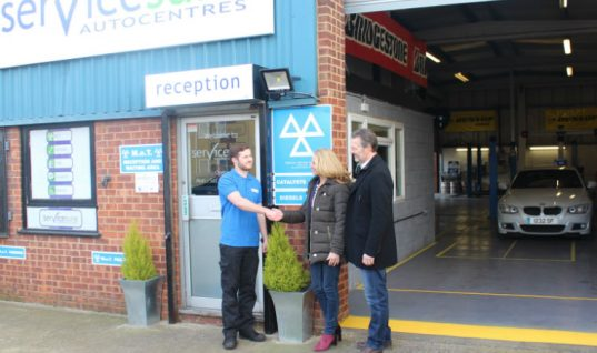 More than 200 Servicesure Autocentres offer 'Brakes for Life'