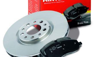Mintex extends brake pad, shoe and disc range