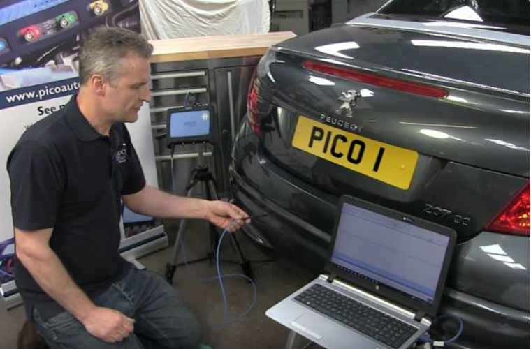 Video: how to use PicoScope to test parking sensors