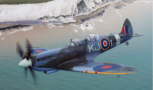 Parts Alliance promotion to send customers on Spitfire flight
