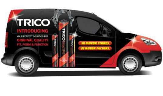 Trico and A1 Motor Stores announce Peugeot Partner van promotion