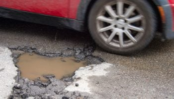 "Continued rise of pothole-related breakdowns is ""concerning"", says RAC"