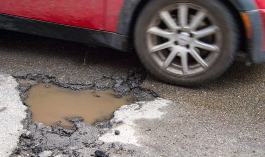 Ford Fiesta driver terrified after pothole rips rear axle from vehicle at 25mph