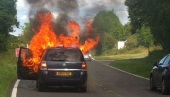Vauxhall faces criminal investigation over Zafira fires