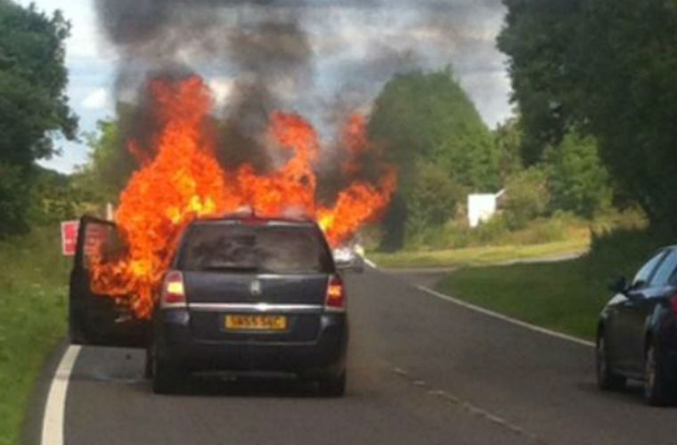 Vauxhall faces criminal investigation over Zafira fires