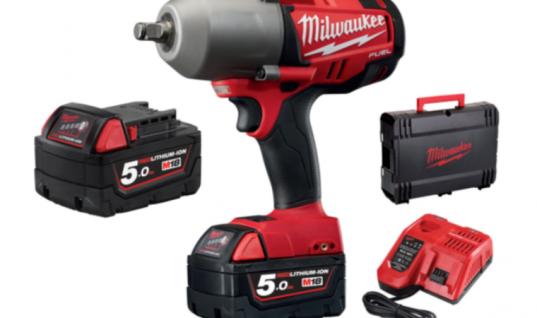 Milwaukee M18 1/2″ high torque impact wrench