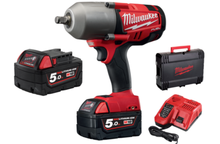 Milwaukee M18 1/2″ high torque impact wrench