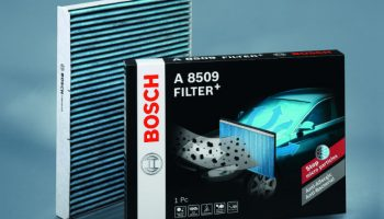 New Bosch cabin filter helps drivers breathe easy in allergy season