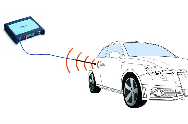 How to use PicoScope to test keyless entry and starting systems