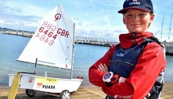 Yuasa-backed teenager to represent Team GB in Sailing World Championships