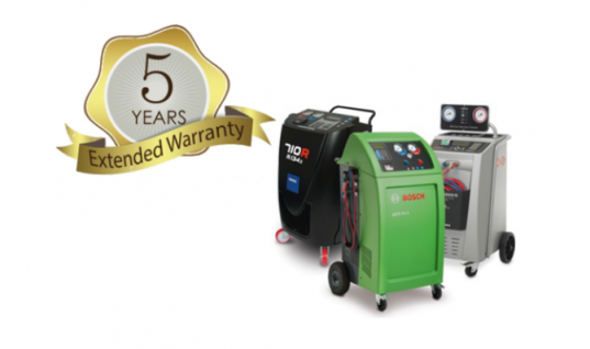 Five year warranty on air con machines at Hickleys