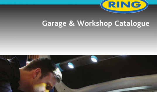 Ring garage and workshop catalogue out now