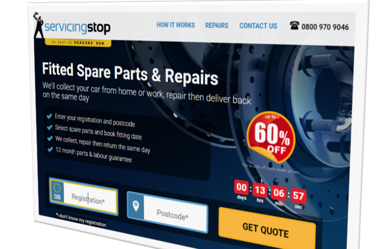 Servicing Stop launches repairs website