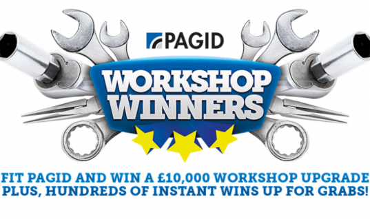 Pagid offers £10,000 workshop upgrade with 'workshop winners' promo