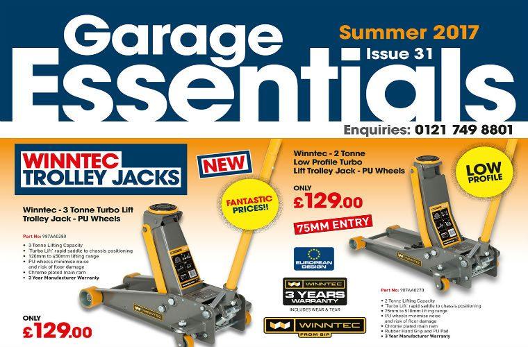 Garage Essentials summer 2017 available now