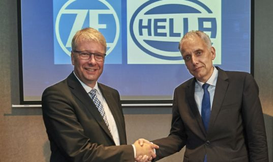HELLA and ZF form new partnership