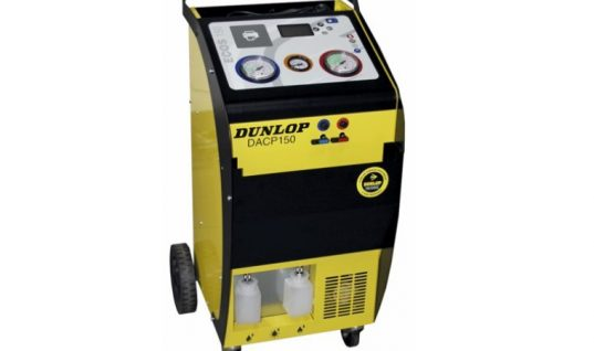 Dunlop R134a automatic machine with database and two year warranty