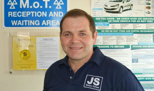 AA Garage Guide supports development of JS Motors
