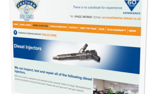 Diesel specialist relaunches website and highlights 60 years' experience