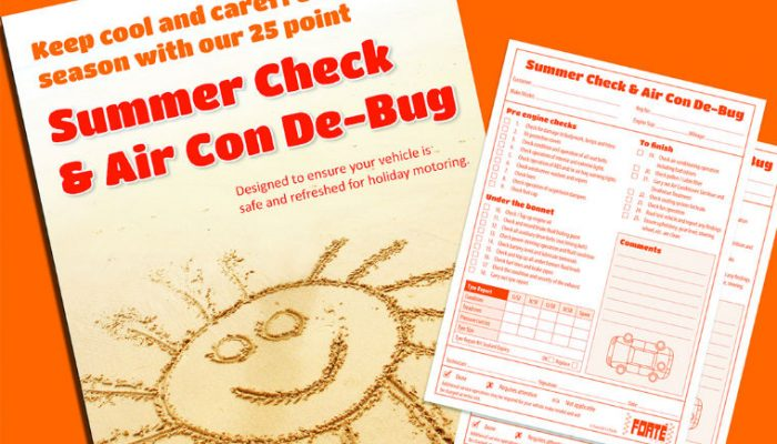 Forte promotes summer health check for vehicles