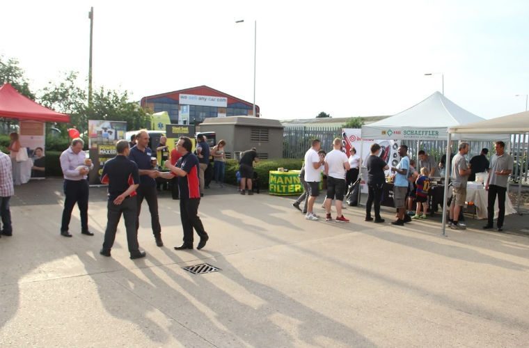 Sun shines on GSF's Peterborough branch for trade evening