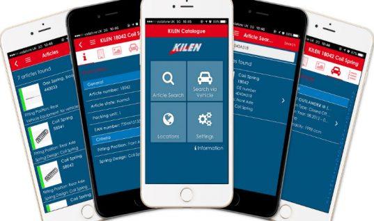 Kilen release free mobile spring finder app