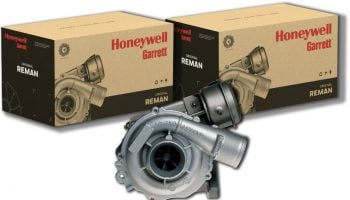 How are Garrett by Honeywell turbos supporting commercial vehicles?