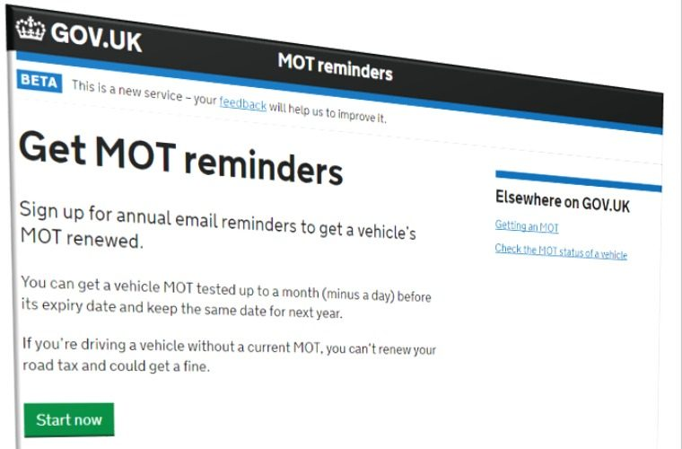 DVSA calls on garages to test out new MOT reminder service ahead of official launch