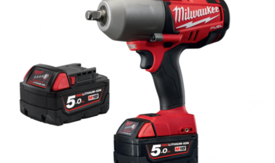 "Milwaukee M18 fuel ½"" high torque impact wrench with friction ring"