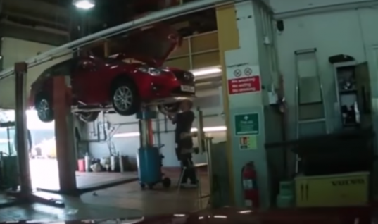 "Watch: Dealership technician brags about ""ragging"" customer's Mazda RX-8"