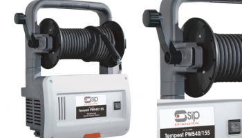 Wall mountable and portable pressure washer at SIP
