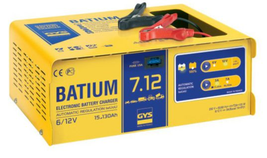 Batium 7.12 advanced electronic battery charger