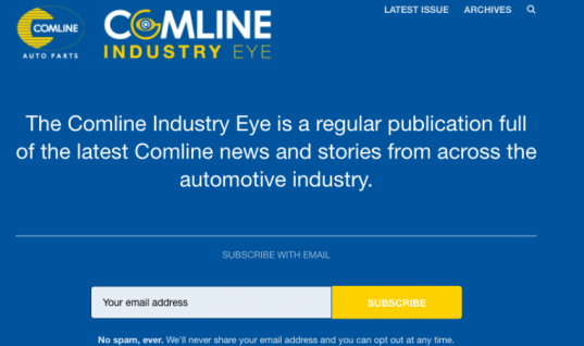 What is 'Comline Industry Eye' and why does it matter to you?