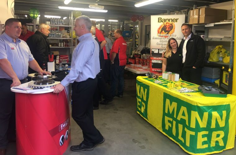 Summer downpour didn't dampen trade evening at GSF's Harlow branch