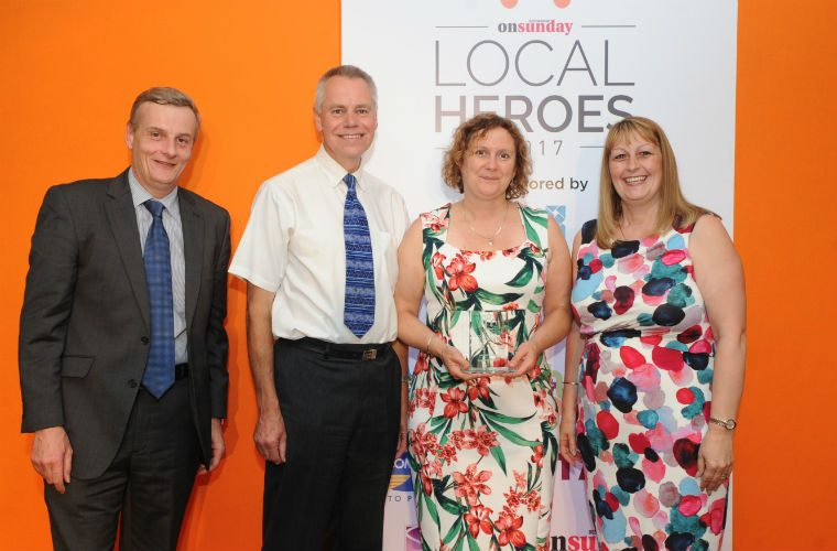 Comline supports Bedfordshire charities by sponsoring Local Heroes award