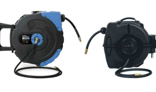 Prosol air and water hose reels