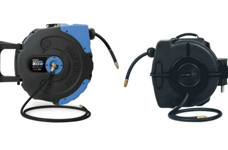 Prosol air and water hose reels