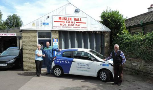 Holmfirth independent garage wins AutoCare prize draw