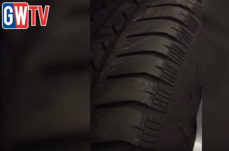 Video: Vehicle owner oblivious to wobbly wheel identified by garage