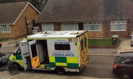 Carbulance: the ultimate mobile workshop