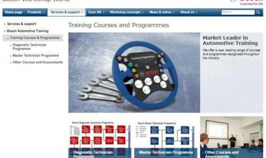 Limited spaces available for October courses with Bosch