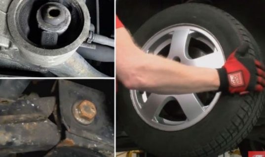 Watch: VAG control bush replacement technical video