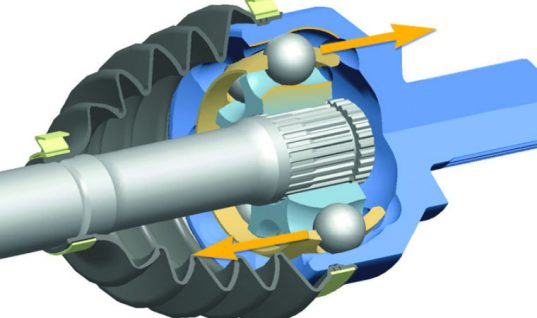 Countertrack joint technology by GKN available on the spare parts market
