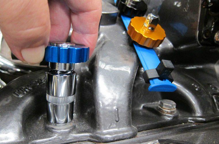 Socket spinner adaptor set from Laser Tools
