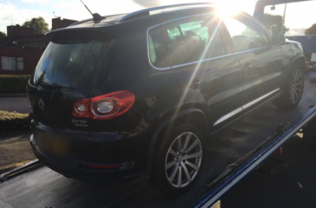 Unassuming driver has car impounded after giving unmarked police car the finger